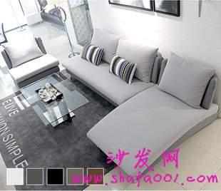 布艺沙发的颜色应与装潢风格相符 进而画龙点睛