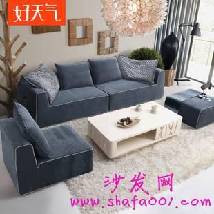 彩色布艺沙发 打造五彩斑斓有趣生活