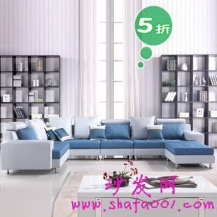 沙发网教你挑选既舒服又合适的布艺沙发