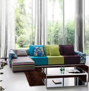 彩色布艺沙发挑选方法很重要你知道吗