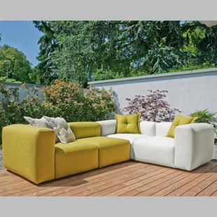 彩色布艺沙发颜色搭配很简单 多种风格你也能够塑造