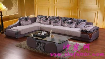 被大红鹰布艺沙发所吸引 美观大气有特色