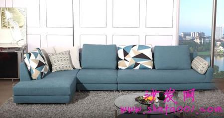 浅谈大班布艺沙发价格与特色 轻松自然