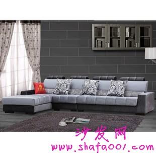 白色布艺沙发在小户型家居实现的精彩