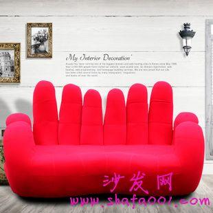 新房装修三人双ok手指造型懒人沙发包邮好推荐