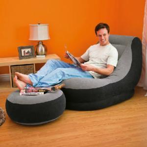 舒适充气式懒人沙发 方便家庭生活好帮手