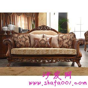 让你拥有时尚品味给你别样的欧式浪漫 欧式布艺沙发