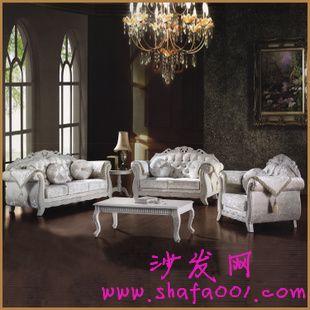 成功人士的不二之选 欧式木雕沙发