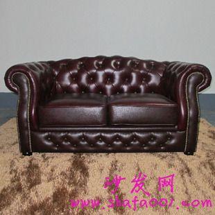 欧式复古真皮沙发 怀缅一下当初的浪漫情怀