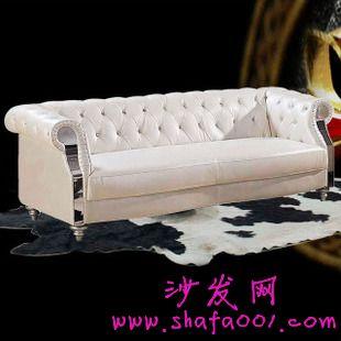 欧式复古真皮沙发典雅设计香醇有韵味
