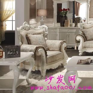 欧式真皮组合沙发 散发艺术之美