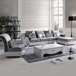 选购欧式布艺组合沙发 生活强调质感