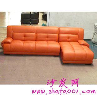 为你介绍一款真皮沙发头层牛皮皮艺沙发