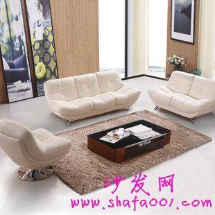 新房装饰客厅真皮沙发选购沙发网跟你说