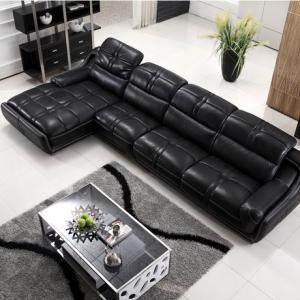 关注现代真皮沙发实木脚建造 感受坚固生活