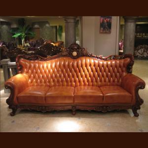 不同的现代真皮沙发组合方式打造不一样的风情