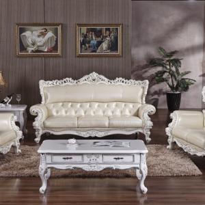 让现代真皮沙发的完美弧度装点我们的家居生活